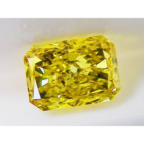 イエローダイヤモンド ルース 0.253ct FANCY VIVID YELLOW SI1