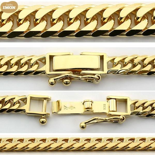 K18 喜平 ネックレス 6面 カット ダブル 30g 60cm|jewelry-imon|02