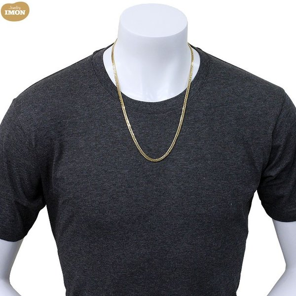 K18 喜平 ネックレス 6面 カット ダブル 30g 60cm|jewelry-imon|04