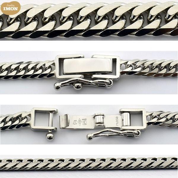 PT850 喜平 ネックレス 6面カット 20g-50cm|jewelry-imon|02