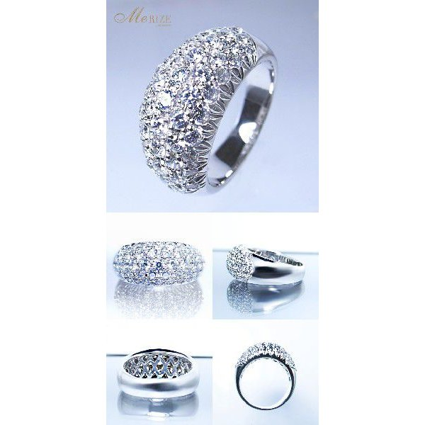 pt900 1.50ct UP 天然ダイヤモンドリング /プラチナリング