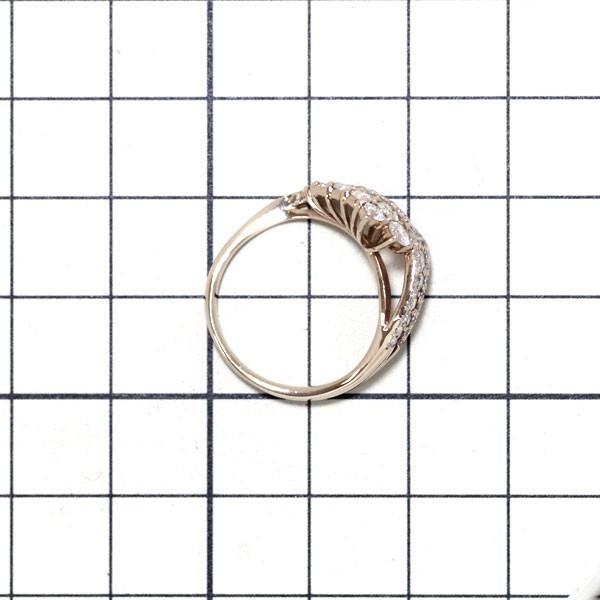 K18PG ダイヤモンド リング D1.10ct NJM定額商品