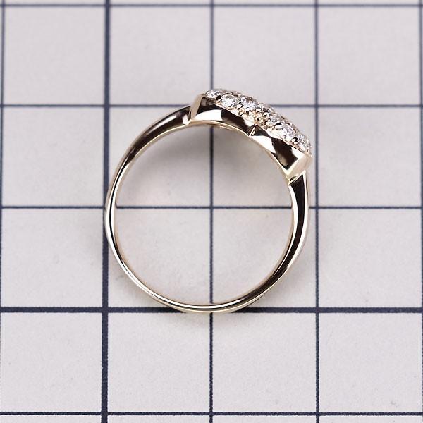 K18PG ダイヤモンド ハート リング D0.53ct定額商品