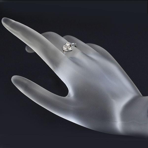 Pt900 ダイヤモンド ハート リング D0.50ct定額商品