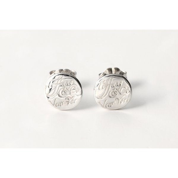 TIFFANY&CO. ティファニー ノーツ Tiffany&Co.ピアス(ミニ) 並行輸入品 t3012
