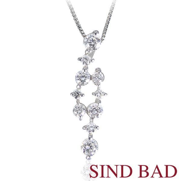 スイートテンダイヤモンド プラチナ ネックレス ペンダント 約0.4ct 誕生日 プレゼント【スイート10 ダイヤモンド】