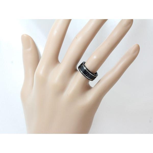 GUCCI(グッチ) アイコンリング シンセティックコランダム 7.5号 8 18金ホワイトゴールド(K18WG)  【中古】ブランド ジュエリー 【新品仕上げ済み】|jewelry-total|06