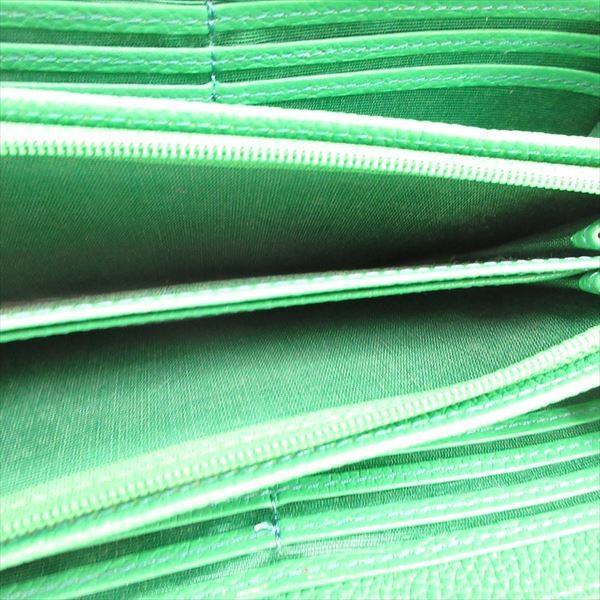 Samantha Thavasa (サマンサタバサ)  ラウンドファスナー長財布  緑 グリーン / 【ブランドバッグ】【中古】nb netshop