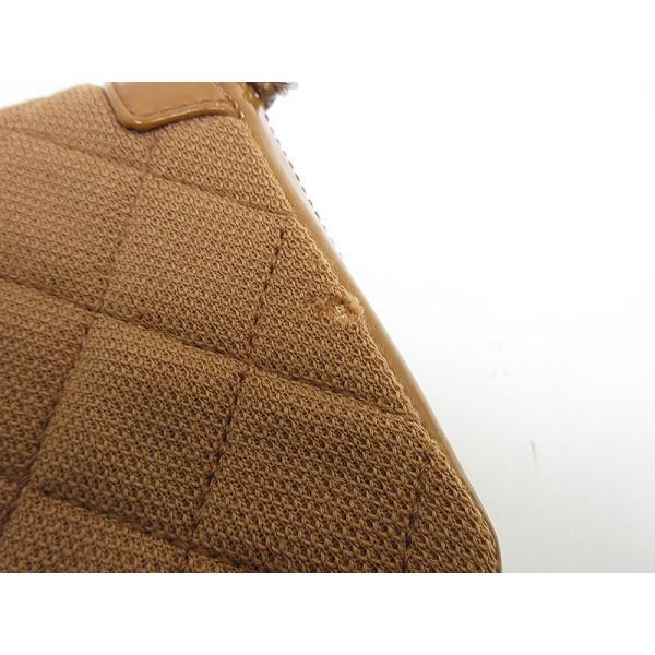 CHANEL(シャネル) マトラッセ 2.55 チェーンショルダーバッグ  茶 ブラウン キャンバス×エナメル【ブランドバッグ】  【中古】 netshop