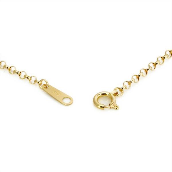 K18 ゴールド ロロ ネックレス 50cm