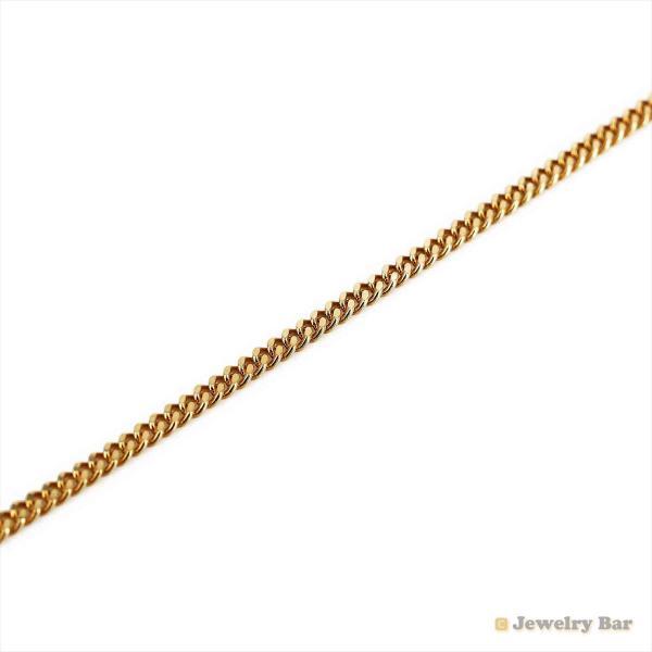 K18 喜平 ネックレス 2面 10g 50cm 造幣局検定付 引き輪式 ゴールド チェーン メンズ レディース 18金