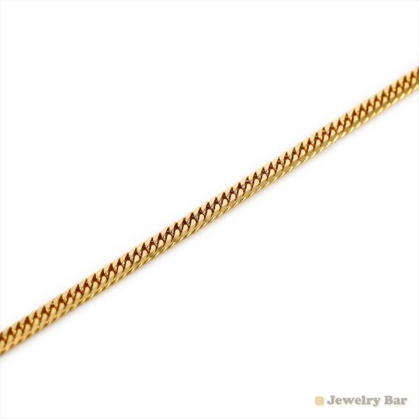 K18 喜平 ネックレス 6面ダブル 9g 45cm  造幣局検定付 ゴールド チェーン メンズ レディース 18金