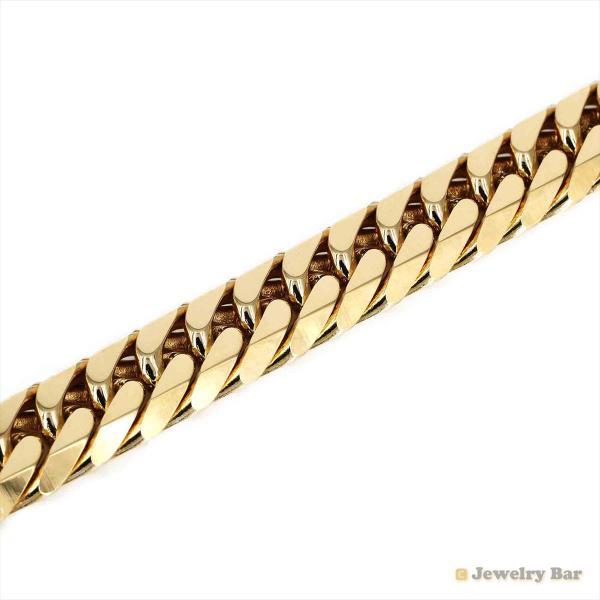 K18 喜平 ネックレス 6面ダブル 200g 50cm 造幣局検定付 ゴールド チェーン メンズ レディース 18金