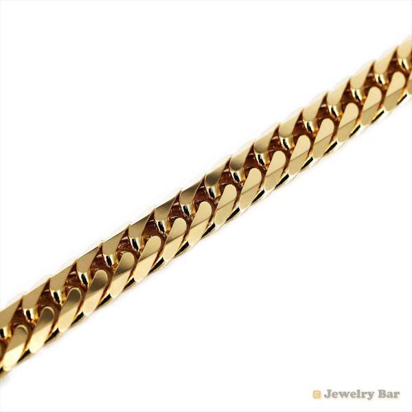 K18 喜平 ネックレス 6面ダブル 80g 50cm 造幣局検定付 ゴールド チェーン メンズ レディース 18金