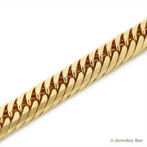 K18 喜平 ネックレス 8面トリプル 100g 60cm 造幣局検定付 ゴールド チェーン メンズ レディース 18金