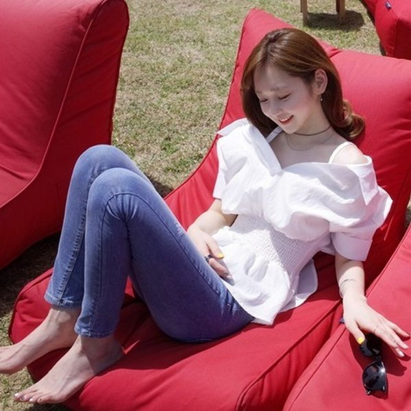 【SALE】 オフショル オフショルダー オフショルトップス ブラウス シャツ レディース シャツ オフショルシャツ 白 ホワイト|jewelryhills|03