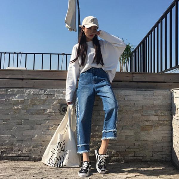 【SALE】 デニム デニムパンツ ジーンズ レディース ジーパン デザインジーンズ デザインデニム カットオフ 切りっぱなし jewelryhills