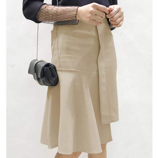 【SALE】 【在庫限り】 スカート 変形スカート 変形 デザイン デザインスカート レディース フレア フレアスカート タイトスカート 膝丈 膝丈スカート|jewelryhills|05