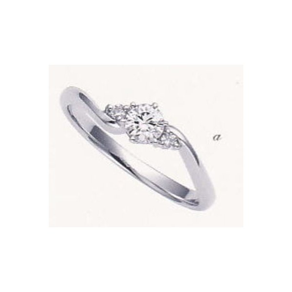 3-13104-015-2 エンゲージリング・婚約指輪  A DEUX ア ドゥー Pd950 新素材 パラジウム