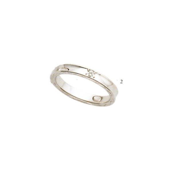 (2)5610032-2(ダイヤ) ANGE【アンジュ】POUR de VRAI【プルドブレ】マリッジリング・結婚指輪・ペアリング用(1本)