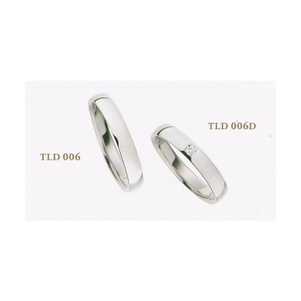 TLD006-TLD006D 2本セット価格 パイロット マリッジリング 結婚指輪 ペアリング Tous Les Deux トゥレドゥ 【Pd990新素材パラジウム・ジュエリー】