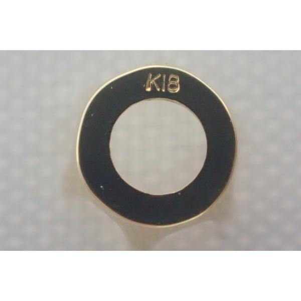 石枠 シャトン K18 18金 彫金 6本爪 1分5厘用 0.15ct ラウンド ペンダント 加工用  jewelryparts-shop 03