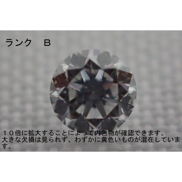 天然ダイヤモンド メレ 裸石 ルース ネイル 約0.016ct 約1.55ミリ 1/60 1個 一粒 ランクB