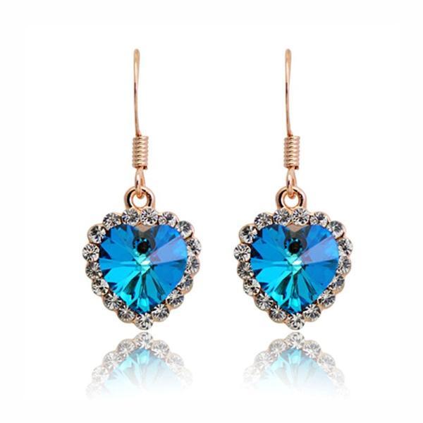 ピアス 海のハート スワロフスキー彩石 ホワイトゴールドRGPK18|jewelrysanmi|05
