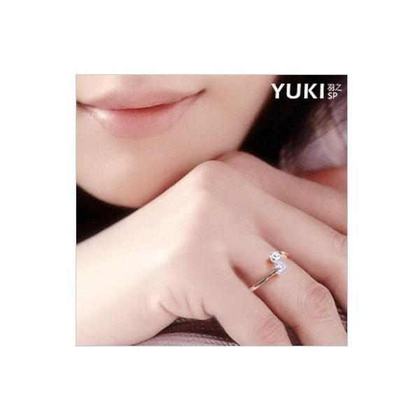 リング 指輪 ピンキー 大きいサイズ あすつく フリーサイズ K18 レディースアクセサリー 人気