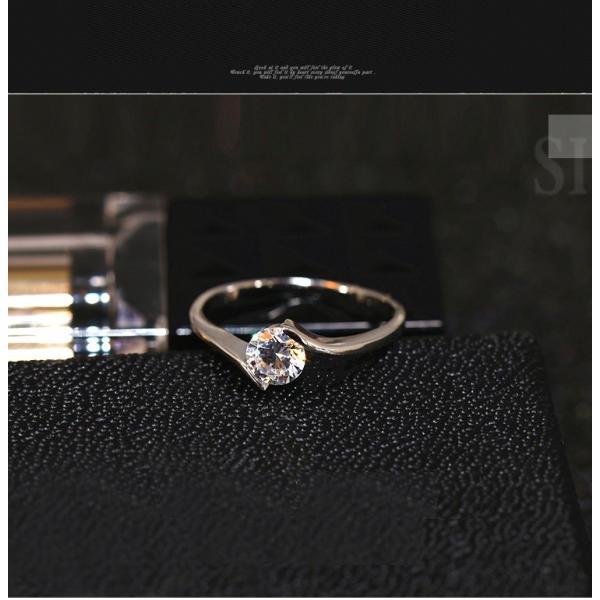 指輪 レディース リング スワロフスキー 大きいサイズ あすつ く K18金RGP レディースアクセサリー