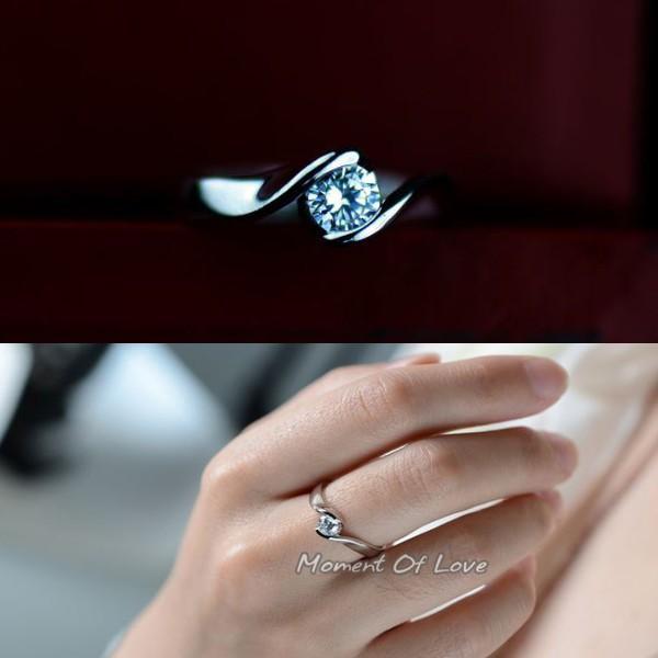 指輪 リング ピンキーリング 結婚指輪 スワロフスキー あすつく 大きいサイズ K18 レディースアクセサリー|jewelrysanmi
