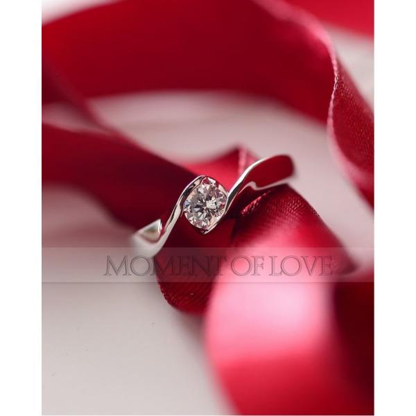 指輪 リング ピンキーリング 結婚指輪 スワロフスキー あすつく 大きいサイズ K18 レディースアクセサリー|jewelrysanmi|02