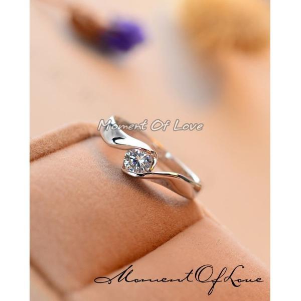 指輪 リング ピンキーリング 結婚指輪 スワロフスキー あすつく 大きいサイズ K18 レディースアクセサリー|jewelrysanmi|03