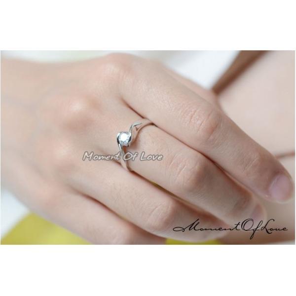 指輪 リング ピンキーリング 結婚指輪 スワロフスキー あすつく 大きいサイズ K18 レディースアクセサリー|jewelrysanmi|05