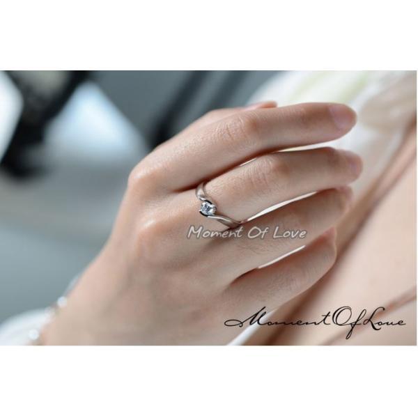 指輪 リング ピンキーリング 結婚指輪 スワロフスキー あすつく 大きいサイズ K18 レディースアクセサリー|jewelrysanmi|06