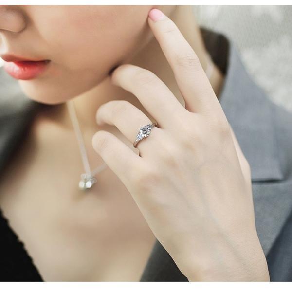 指輪 リング レディース スワロフスキー 3粒 大粒 プレゼント 送料無料|jewelrysanmi|04
