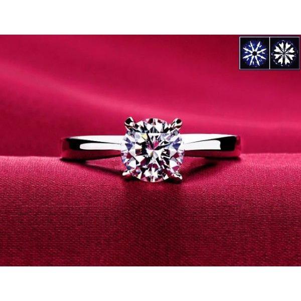 指輪 リング K18 1.3ct ダイヤモンドCZ彩石リングホワイトゴールドK18RGP|jewelrysanmi|02