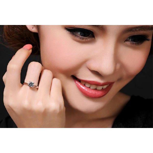 指輪 リング K18 1.3ct ダイヤモンドCZ彩石リングホワイトゴールドK18RGP|jewelrysanmi|03