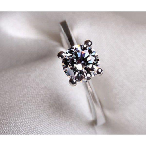 指輪 リング K18 1.3ct ダイヤモンドCZ彩石リングホワイトゴールドK18RGP|jewelrysanmi|04