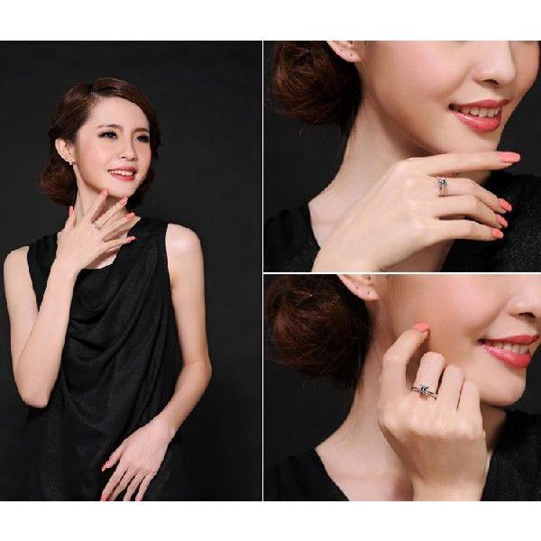 指輪 リング K18 1.3ct ダイヤモンドCZ彩石リングホワイトゴールドK18RGP|jewelrysanmi|06