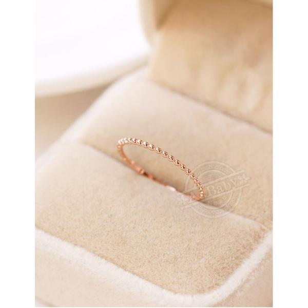 指輪 リング シンプル 指先に願いをこめて 重ね付け重宝 ピンキー 大きいサイズ|jewelrysanmi|03