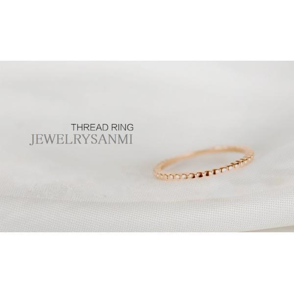 指輪 リング シンプル 指先に願いをこめて 重ね付け重宝 ピンキー 大きいサイズ|jewelrysanmi|04