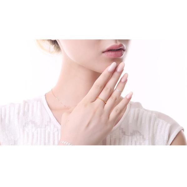 指輪 リング シンプル 指先に願いをこめて 重ね付け重宝 ピンキー 大きいサイズ|jewelrysanmi|05