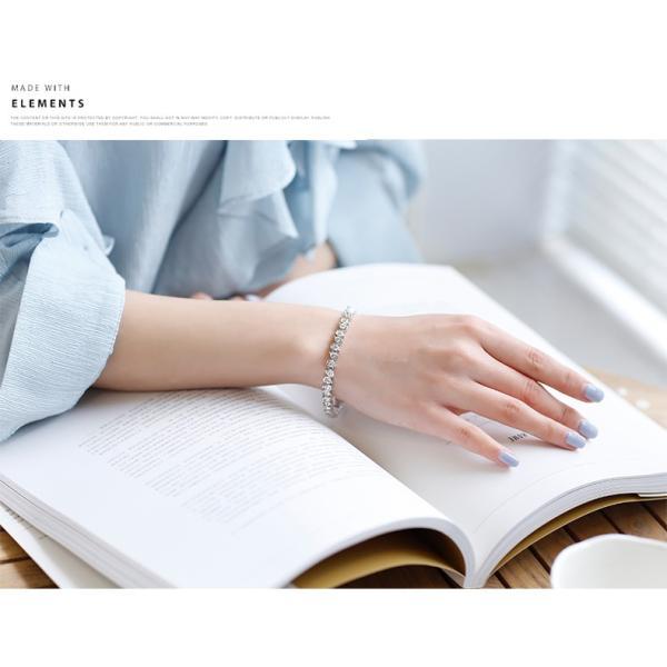 ブレスレット スワロフスキー社製クリスタル K18金RGP プレゼント jewelrysanmi 14