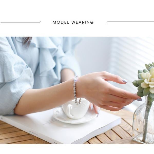 ブレスレット スワロフスキー社製クリスタル K18金RGP プレゼント jewelrysanmi 15