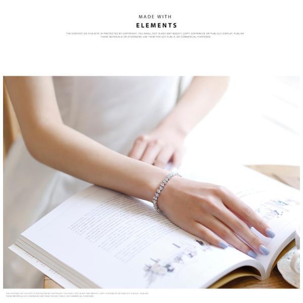 ブレスレット スワロフスキー社製クリスタル K18金RGP プレゼント jewelrysanmi 06