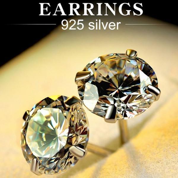 ピアス スワロフスキー シルバー SILVER925 シンプル あすつく K18 プラチナ レディースアクセサリー|jewelrysanmi