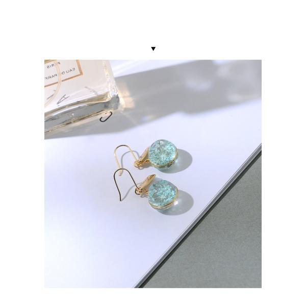 ピアス レディース スワロフスキー 花 さくら 桜 入学卒業 フック 可愛い K18金RGP|jewelrysanmi|17