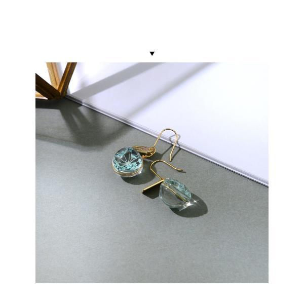 ピアス レディース スワロフスキー 花 さくら 桜 入学卒業 フック 可愛い K18金RGP|jewelrysanmi|18