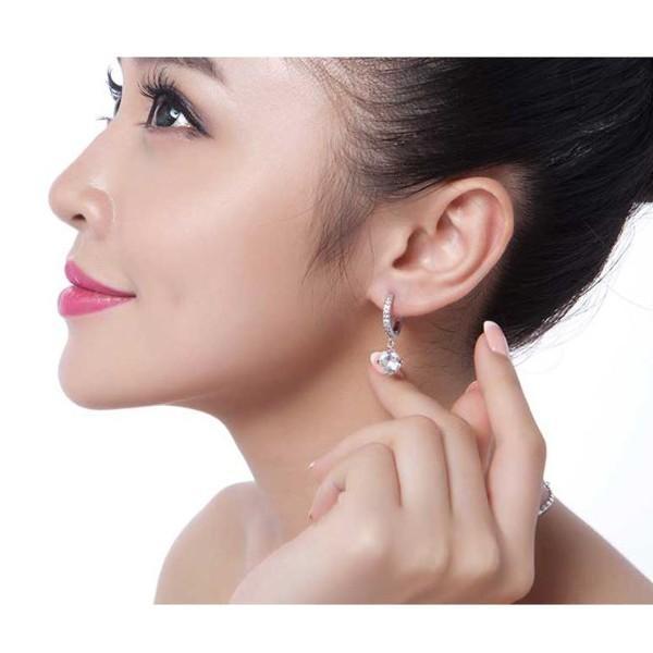 ピアス スワロフスキー 大粒 両耳 ゴージャス あすつく K18 レディースアクセサリー|jewelrysanmi|06